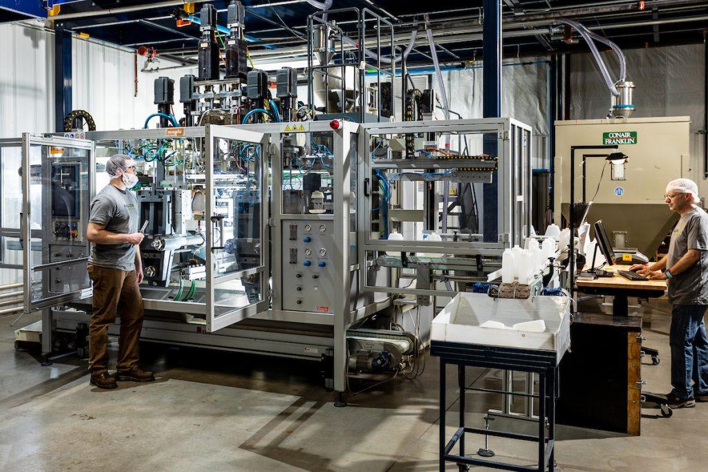 Blow Molding, Plastics Manufacturing